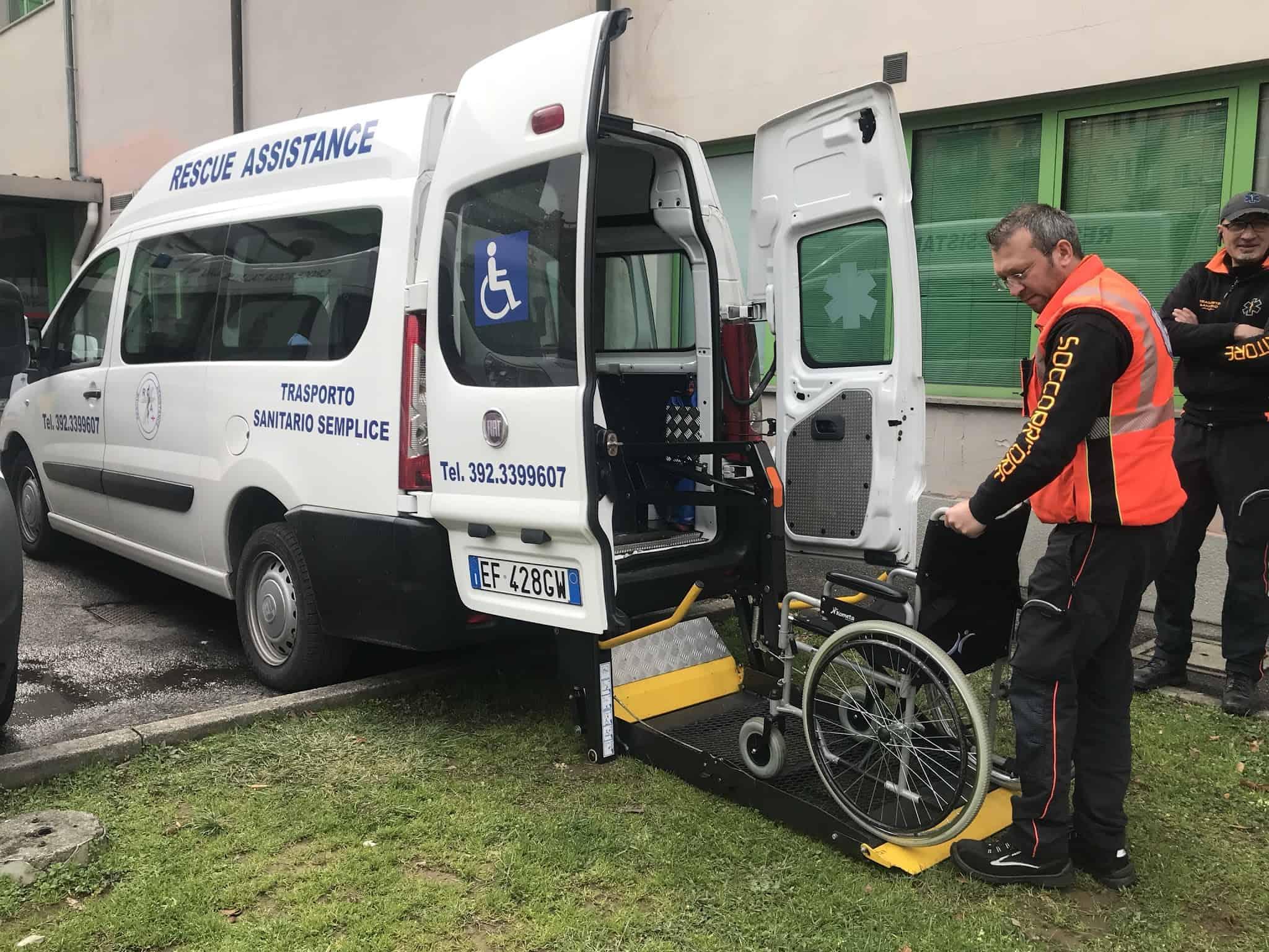 Trasporti difficili con pazienti