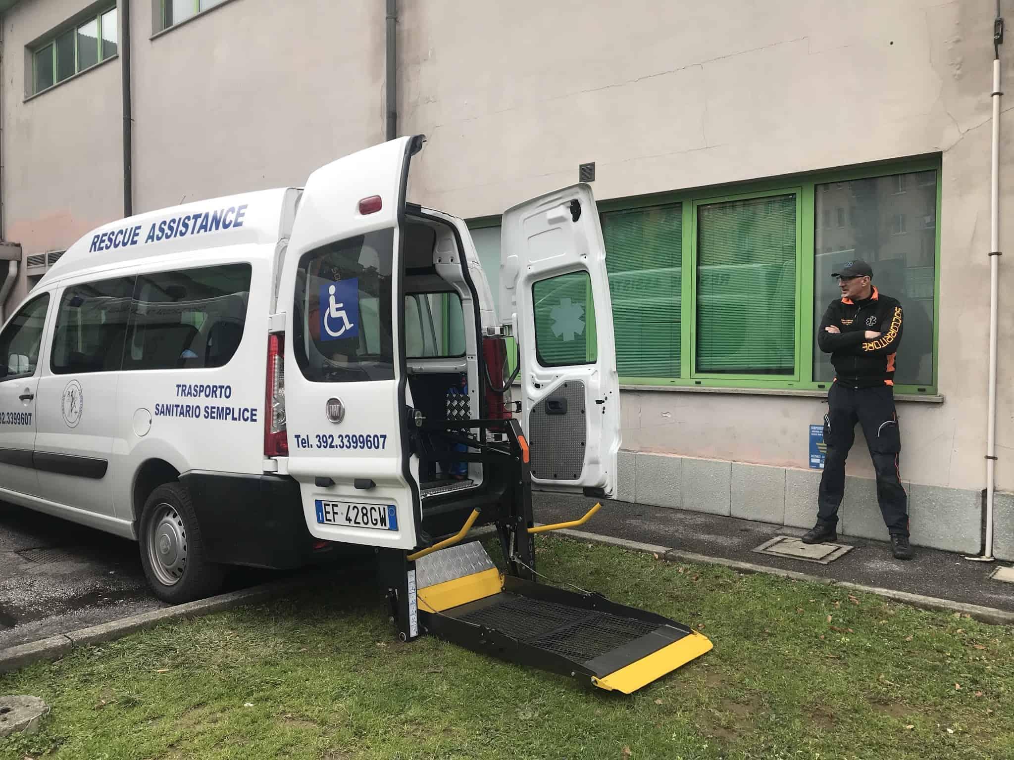 Costo trasporto ambulanza privata Milano